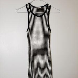 🌸Fashion Q Black and White stripe Dress